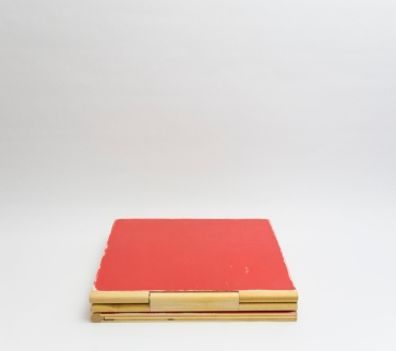 Coffee Book Table Red 1