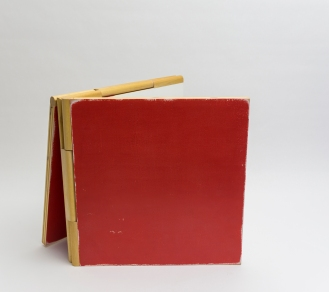 Coffee Book Table Red 3
