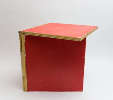 Coffee Book Table Red 4