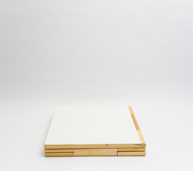 Coffee Book Table White 1