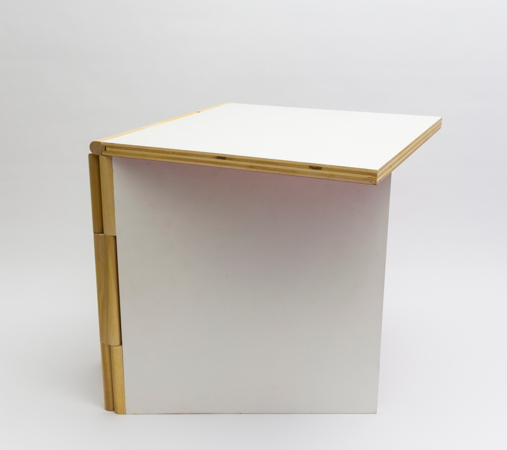 Coffee Book Table White 4